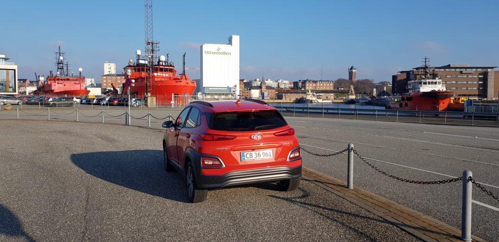 KONA på havnen i Esbjerg