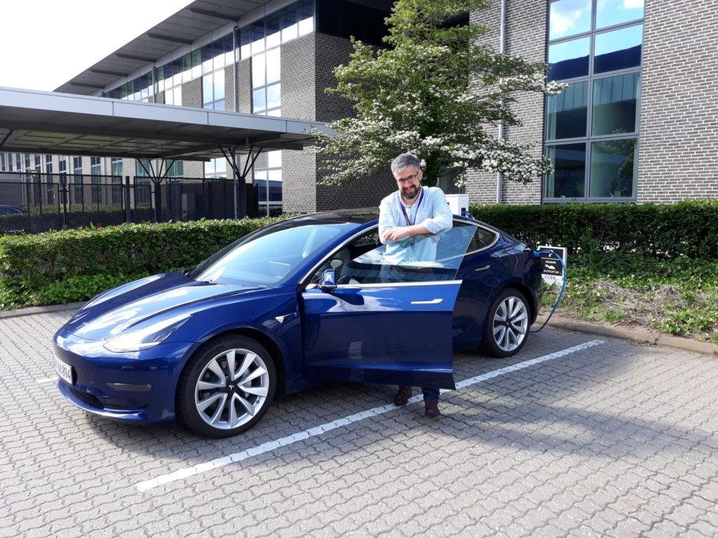 Peter Esmann Århus Tesla Model 3